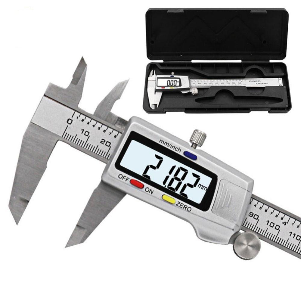 0-150mm Stainless Steel LCD Digital Electronic Vernier Caliper Gauge Micrometer