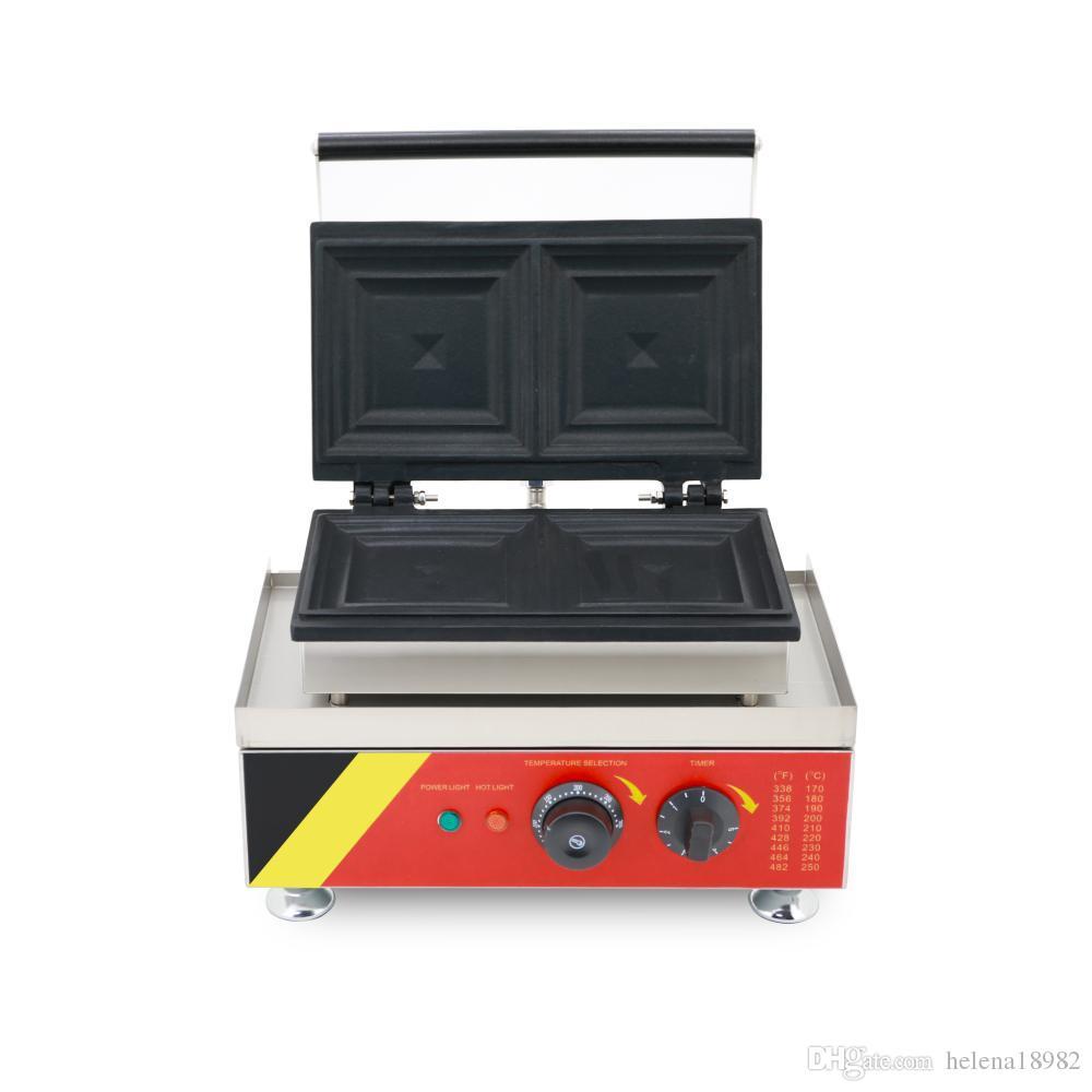 Gıda İşleme Elektrikli Mini Sandviç Makinesi Ekmek Taiyaki Yapma Makinesi