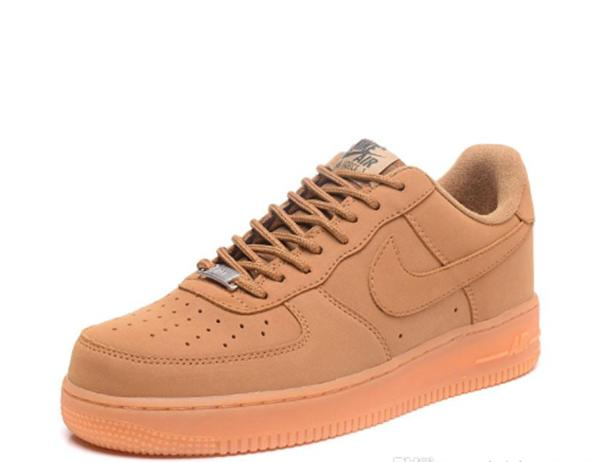 nike air force 1 marron hombre