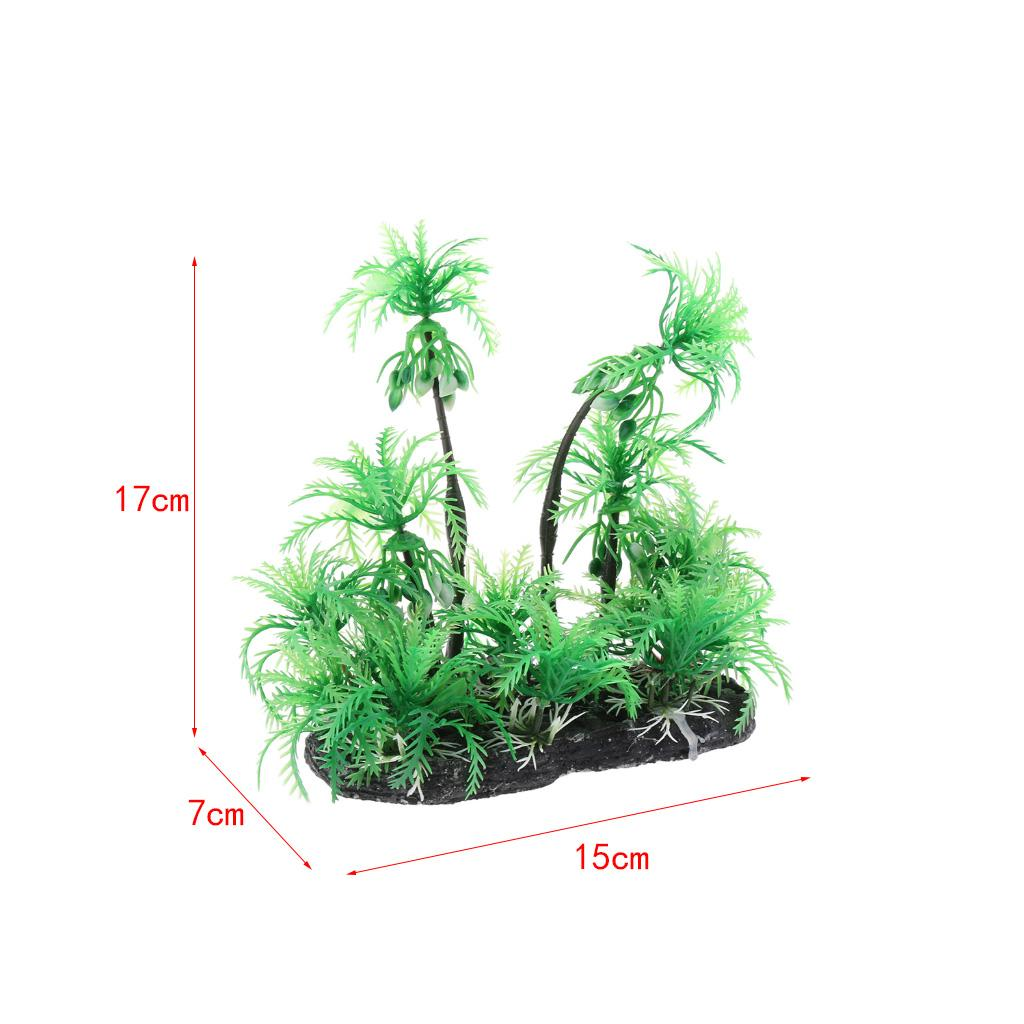 Decorations Simulation Artificial Coconut Plant Aquarium Terrarium Ornament For Reptile Pet Supplies Livingstonejewelry Com