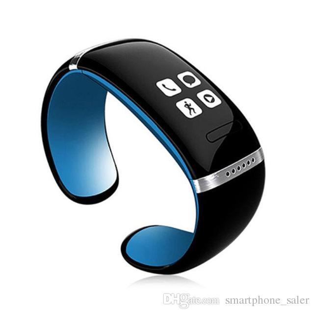 Smart Watch L12S OLED Bluetooth-Armband-Armbanduhr-verlorene Erinnerung Pedometer Smart-Armband-Ring für IOS Android iPhone Phone