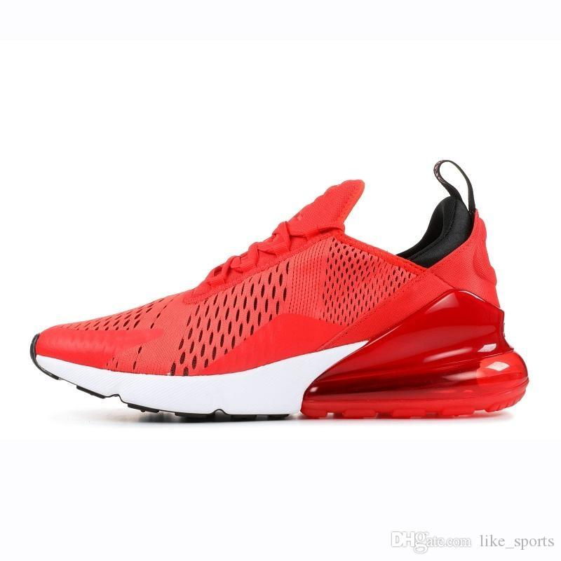 Großhandel Nike Air Max 270 27C 2019 Laufschuhe Herren Damen Northern Lights Pink Sea Triple Schwarz Rot SUNRISE CARBON GREY DESERT GOLD Herren