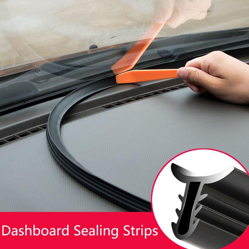 Accessori auto auto Noise isolamento fasce di tenuta in gomma Automobile Dashboard strisce parabrezza Auto tenuta Gap Adesivi suono