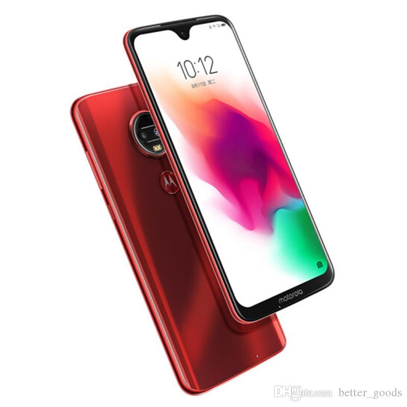 """الأصلي لينوفو موتورولا G7 زائد 4G LTE الهاتف الخليوي 6GB RAM 128GB ROM أنف العجل 636 الثماني الأساسية 6.24 """"الهاتف 16MP بصمة ID سمارت موبايل"""
