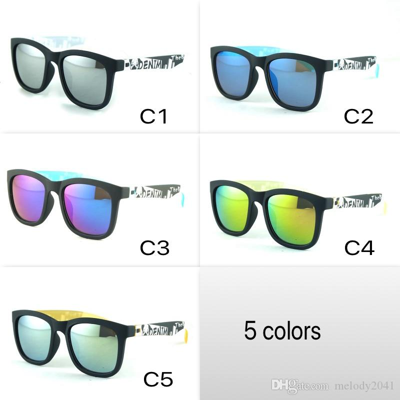 Cool Kids Sunglasses Square Frame Children Sun Glasses Children Sports Eyeglasses For Boy And Girls UV400 5 Colors Wholesale