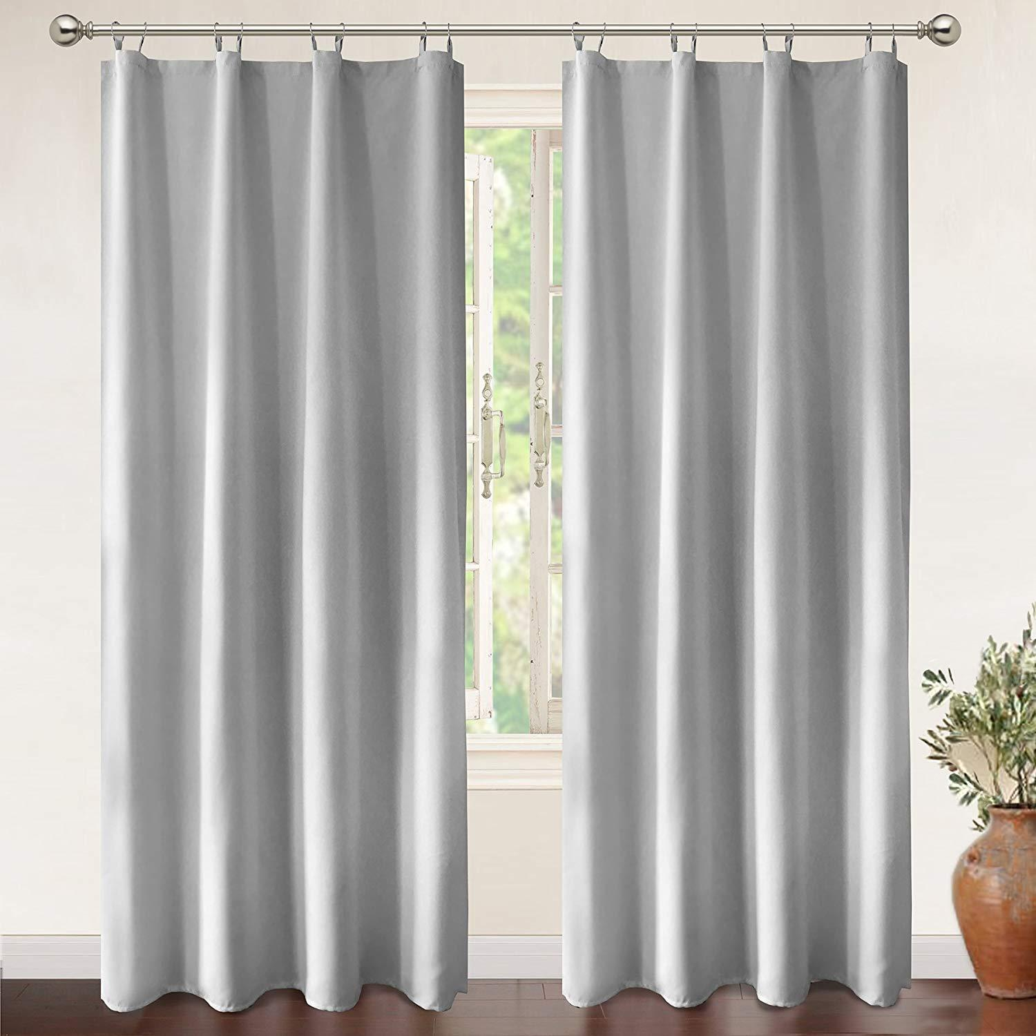 2019 Jarl Home White Blackout Curtain Liner Fabric Functional Grommet  Drapes Thermal Insulated Bedroom Curtains With Rings Hot Sale From  Jarlhome, ...