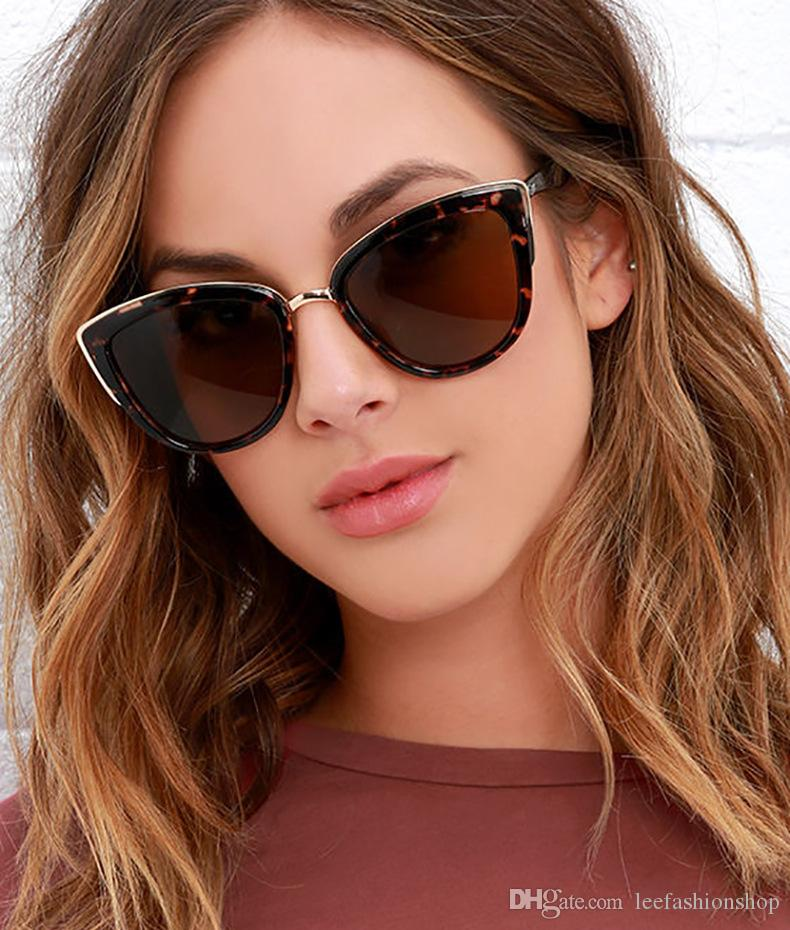 Cat Eye Occhiali da sole Full Frame Donna Uomo Colorato Trasparente Occhiali da sole retrò Rettangolo Occhiali da sole Occhiali da donna color caramella 16005