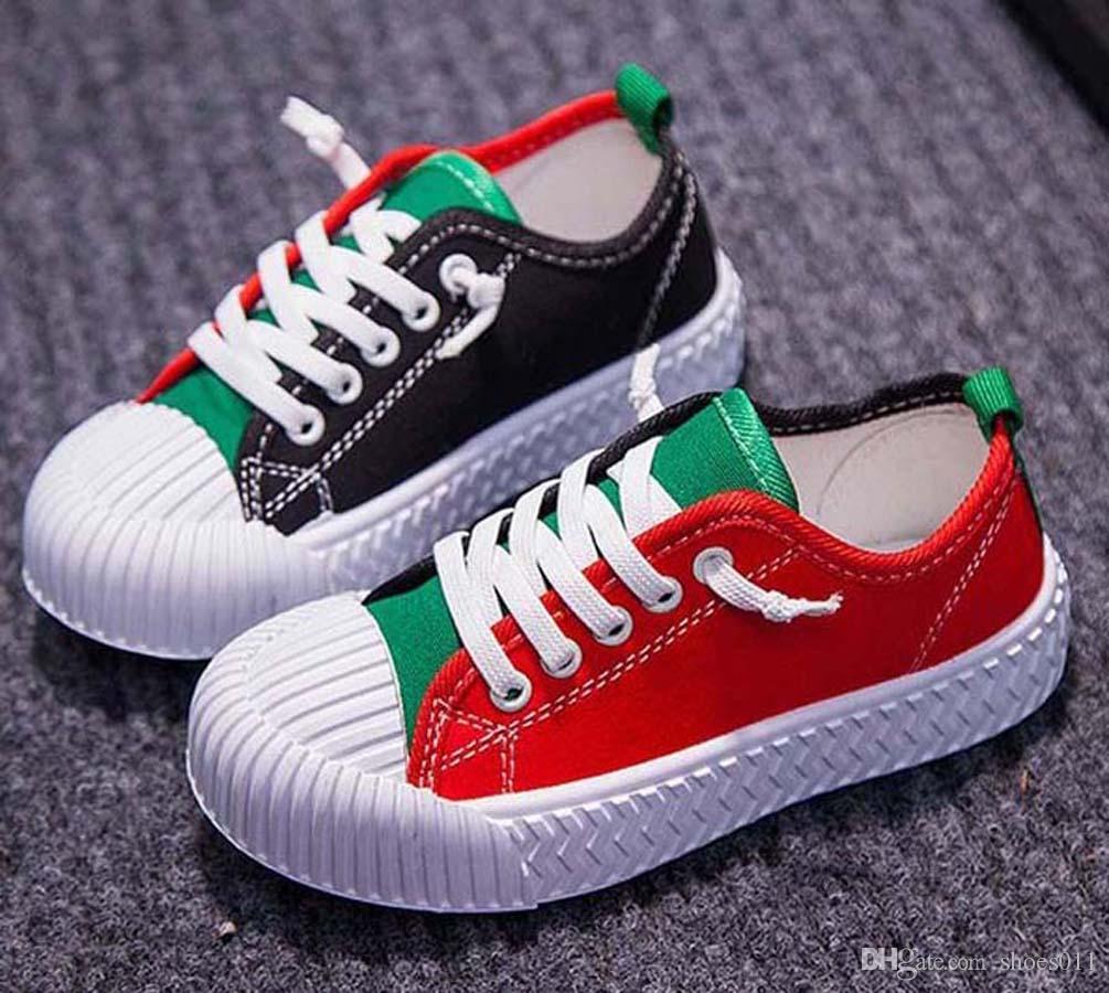 Лучшие качества Классический Sneaker Chaussures Enfants Мода Смарт тройные ботинки малышей платформы кожаных ботинок воздушных Chaussures shoes011 PX536