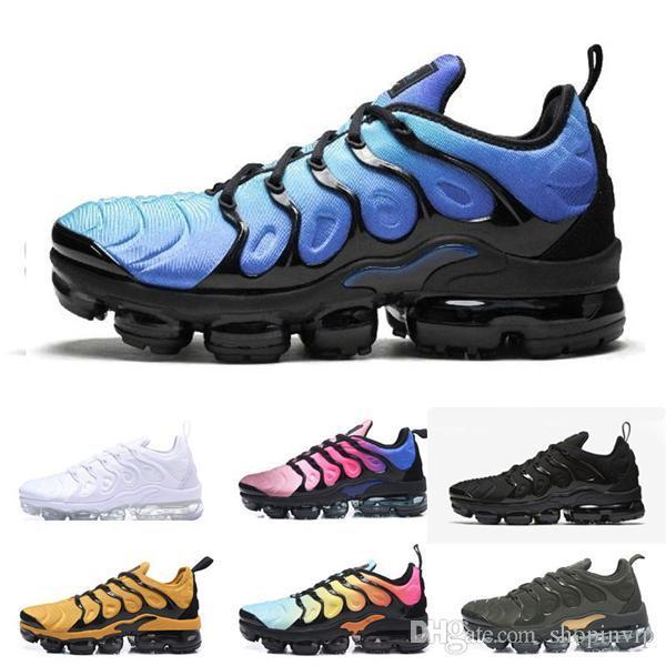 beyaz presto tn Ücretsiz Kargo 2019 Eğitmenler TN Artı Üç Erkekler Hava cusion desingers Regency Mor Zapatos Sneakers Ayakkabı Koşu Açık