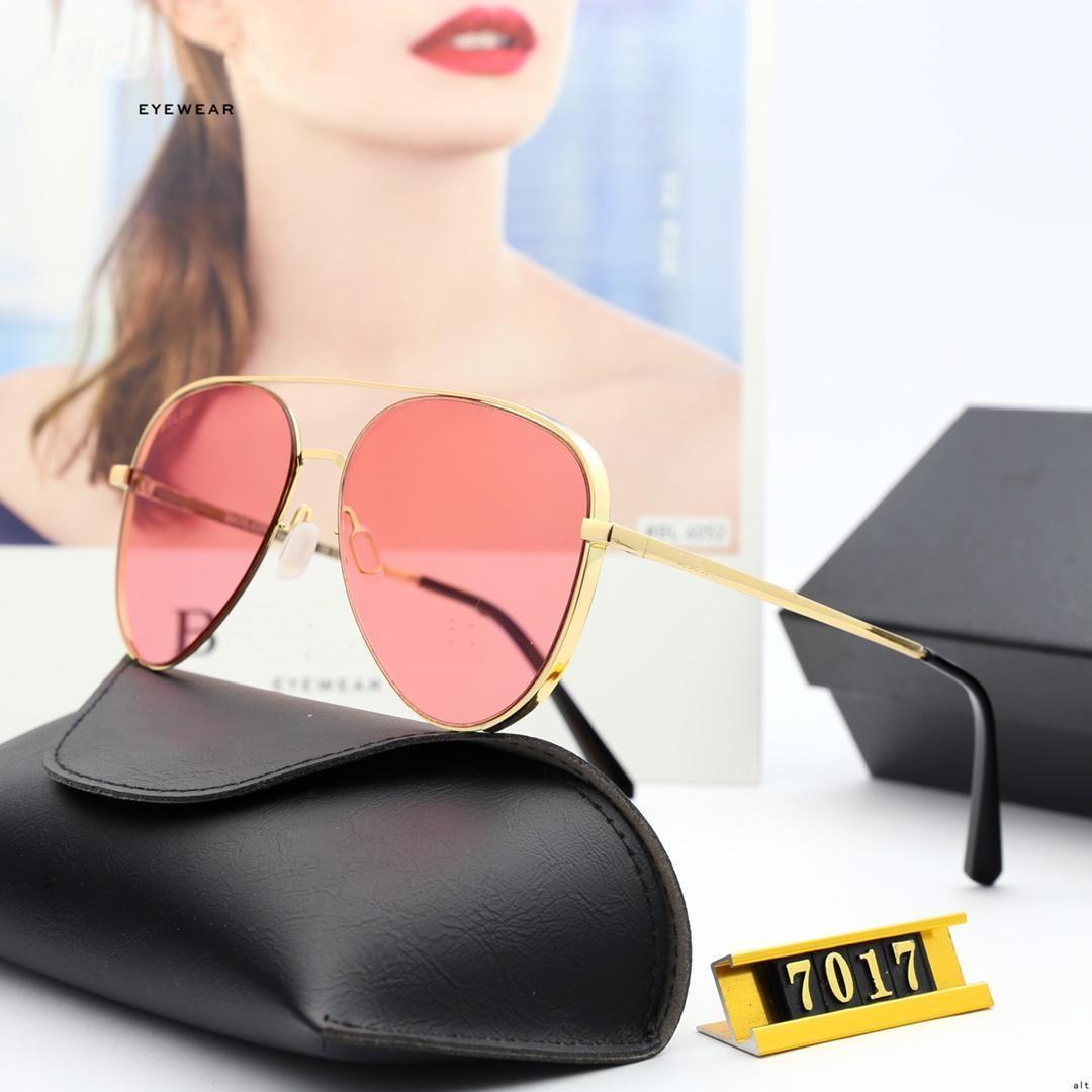 Sunglass di disegno - occhiali da sole in lega lenti in nylon-polarizzato per gli uomini e le donne con i piloti di occhiali da sole BL7017
