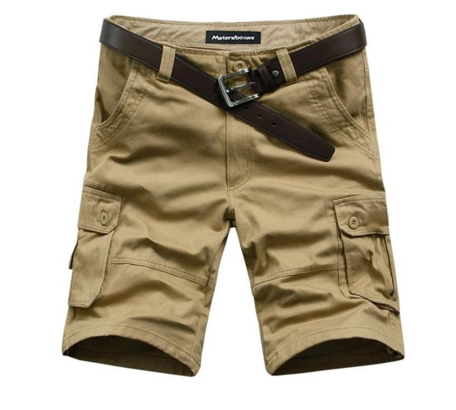 Venta al por mayor-2020 Venta caliente de verano Ejército de hombre Ejército de trabajo Casual Bermudas Shorts Men Fashion Sports Glover Squad Match Planchas Tallas grandes 4 Color