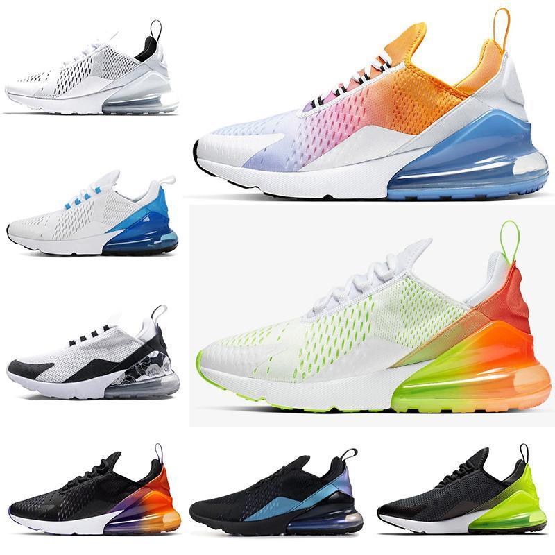 Frete grátis Os homens novos mulheres sapatos casuais THROWBACK FUTURAS criados Tiger LUZ osso preto branco formadores respirável lazer sneaker