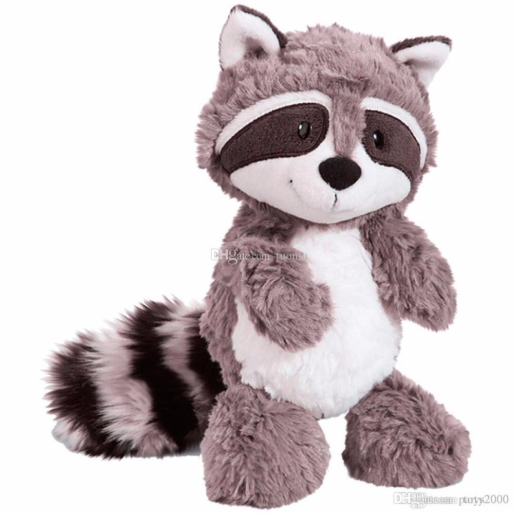 25см серый медведь Плюшевые игрушки Прекрасные Симпатичные мягкие Мягкие игрушки Кукла Подушка Для детей Дети девочек Детские подарка дня рождения доставка DHL
