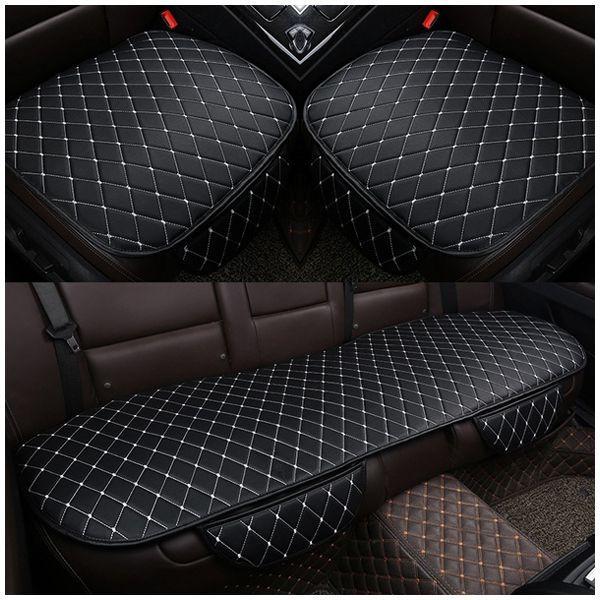 AUTO -1 imposta PU sede in pelle auto rilievo copertura per Auto ammortizzatore di sede di Protezione Mat Pad