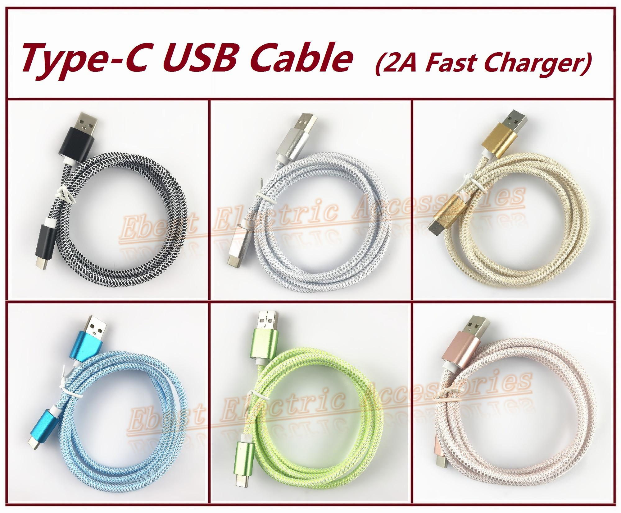 New 3.3Ft Braided Type-C USB Data Sync Charger Cable Cord For GoPro Hero 7 Hero 6 Hero 5