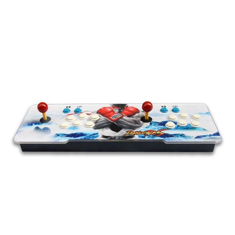 free ship Pandora 7 1280*720P 32GB 3160 games Arcade Video Game Console Box Arcade game player Double Arcade Joystick With many language