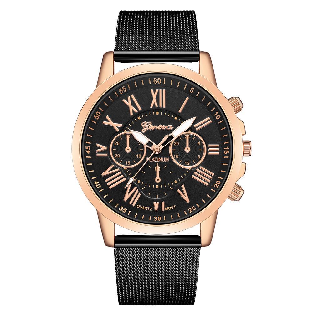 Lusso inossidabile delle donne orologio analogico al quarzo braccialetto del polso regalo Montre femme Senhoras assistir Reloj de dama WD3
