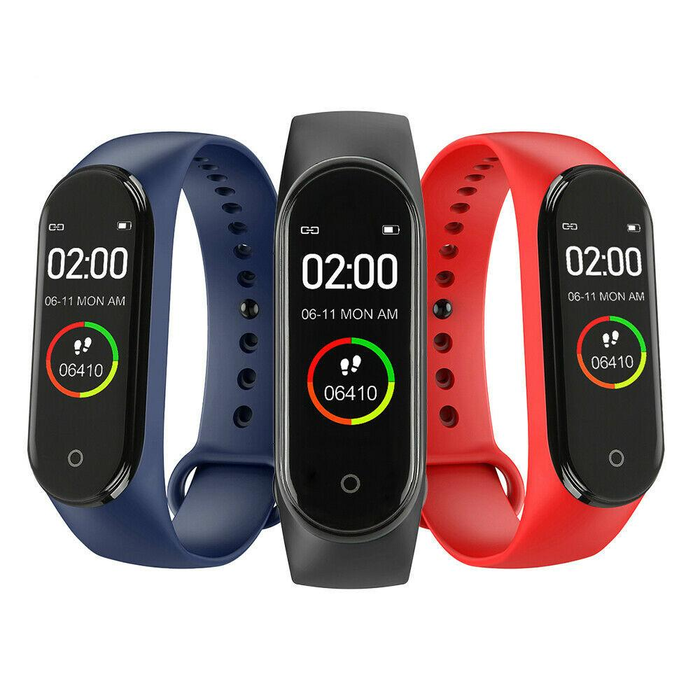 M4 Smart-Band 4 Fitness Tracker Uhr-Sport-Armband Herzfrequenz-Blutdruck-Monitor Smartband Gesundheit Armband
