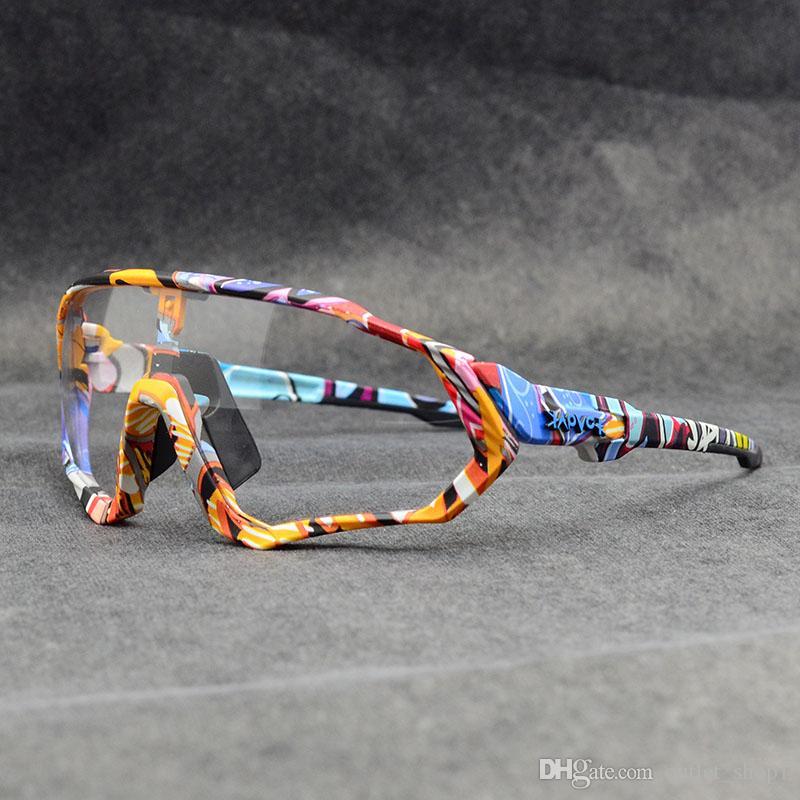 Potocromatico Oculos Ciclismo دراجات نظارات MTB الطريق للدراجات نظارات الرياضة في الهواء الطلق نظارات شمسية المرأة تلون الدراجة نظارات