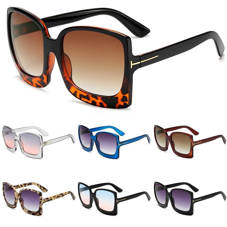 جولة خمر الكبير المتضخم عدسة مرآة العلامة التجارية الوردي النظارات الشمسية سيدة كول ريترو UV400 النساء نظارات شمسية أنثى Kqw123 # 40824