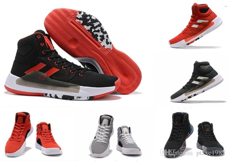 2019 Chegada Nova Pro Bounce Loucura 2019 Shoes time de basquete boa qualidade Multicolor sapatos de marca Sapatilhas esportes dos homens Trainers