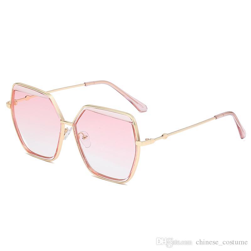 Женские солнцезащитные очки Big Box Женские дизайнерские солнцезащитные очки Big Box Модные зеркальные солнцезащитные очки Ретро-модные солнцезащитные очки