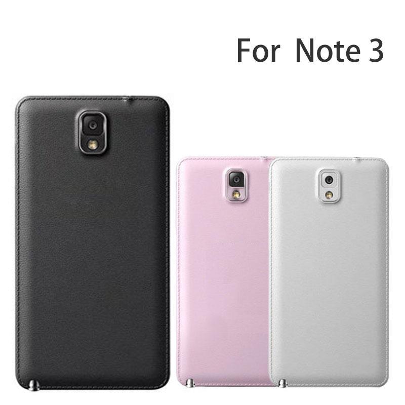 لسامسونج غالاكسي NOTE3 N900 الغطاء الخلفي الإسكان القضية لسامسونج NOTE3 استبدال N9005 غطاء البطارية يكون الشعار