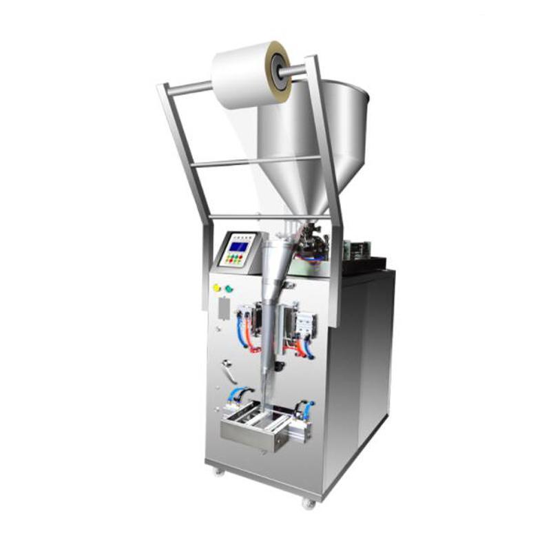 500W sosu biber sosu zeytinyağı krem, üç taraflı bir conta arka conta dolum paketleme makinesi domates fıstık ezmesi makinesi Paketleme