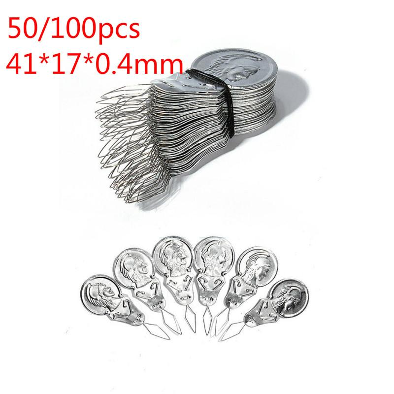 50 pcs Wholesale Bow Wire Needle Threader Stitch Insertion Tool For Sewing Craft