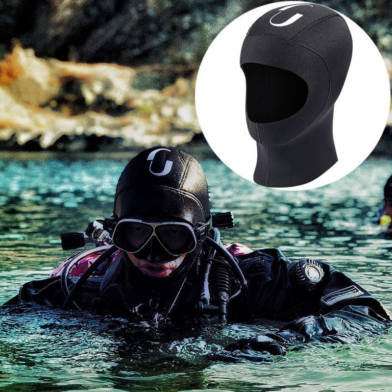 2019 5MM الغوص جديد هود الرجال والنساء الغوص الأمواج واقية من الشمس الغوص كاب شتاء دافئ ركوب الأمواج سباحة الغوص كاب