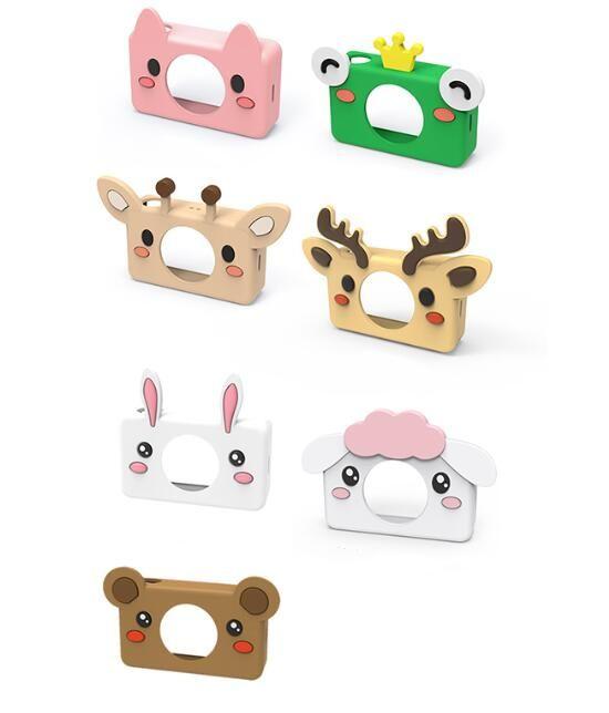 1.8 Inch 8MP Mini DIgital Camera for Kids Baby Cute Cartoon Multifunction Toy Camera Children Birthday 10pcs DHL