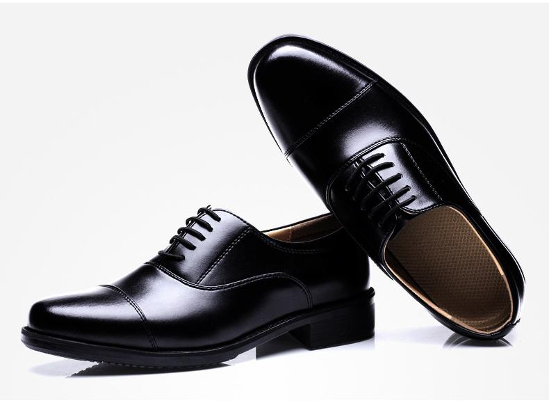 Dresses Hollow Sergeant Three Joint Shoes Standard School Uniforms Officers Three Pointed Scalp Shoes