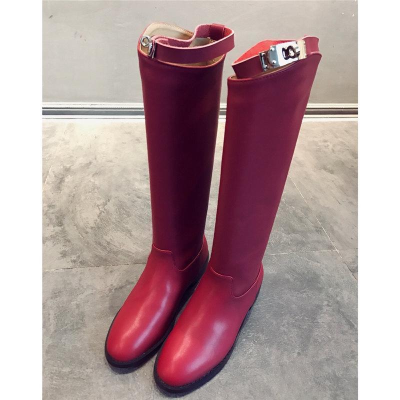 Новый бренд моды роскошь дизайнер женской обуви Мода Роскошные дизайнерские Женские сапоги бренда сапоги женские зимние сапоги ботинки платья женщин sizfd84 #