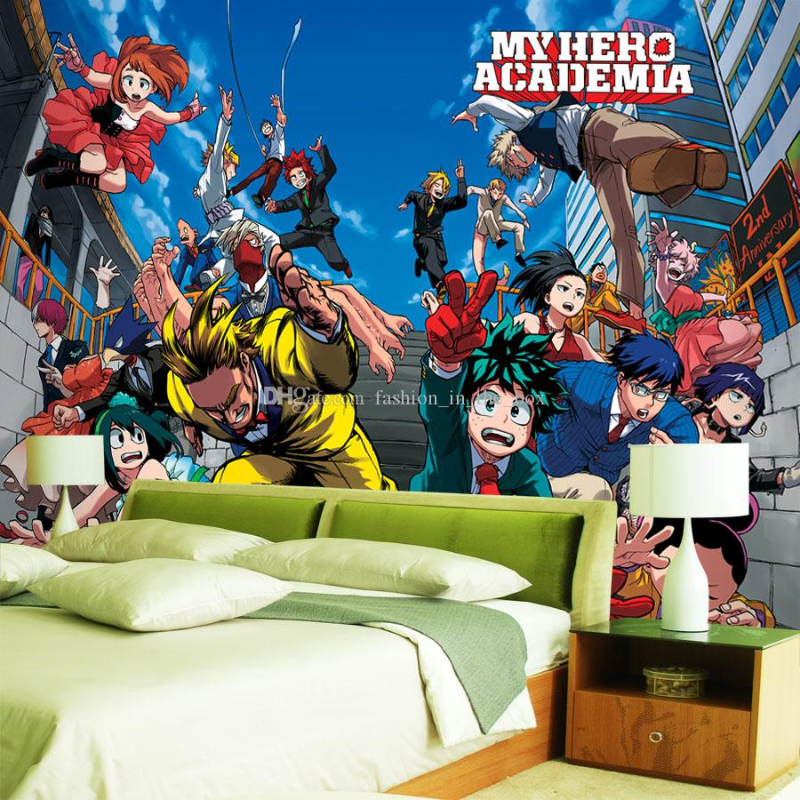 My Hero Academia Wallpaper Japanese Anime 3d Wall Paper Kids