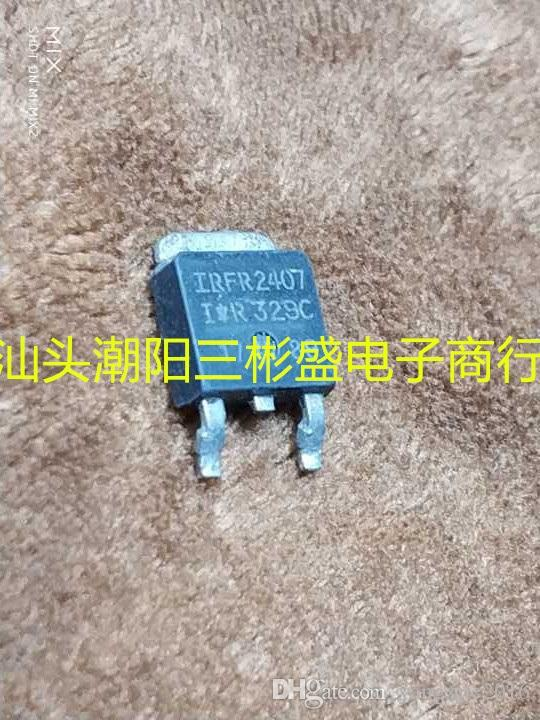 Orijinal Kullanılan Alan Etkili Transistör FR2407 MOSFET TO-252 Testi Tamam