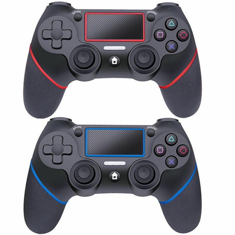 لسوني PS4 بلوتوث تحكم لاسلكي عن بلاي ستيشن 4 اللاسلكية صدمة مزدوجة الاهتزاز المقود جيم ب لPS4 المراقب المالي