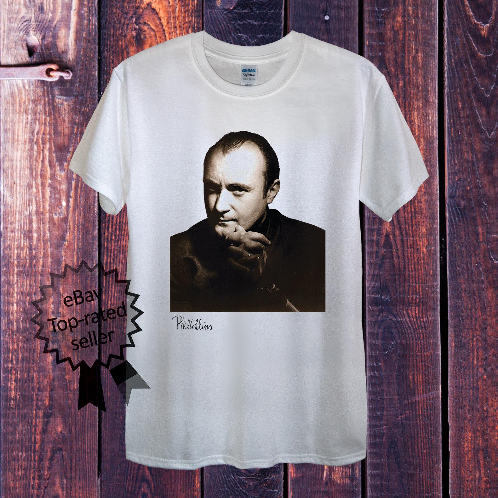 Woman T-Shirt Phil Collins Rock Man