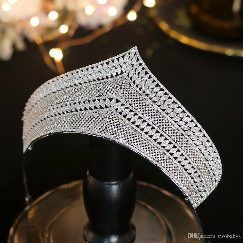 Высокое качество циркония свадебный головной убор серебряные свадебные аксессуары свадебные аксессуары для волос подарок