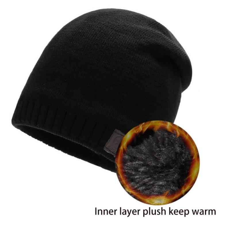 Winter Windproof Hiking Caps Men Warm Thermal Knit Hat Knitting Balaclava Beanies Outdoor Warm Ski Bike Motorcycle Cycling Hats
