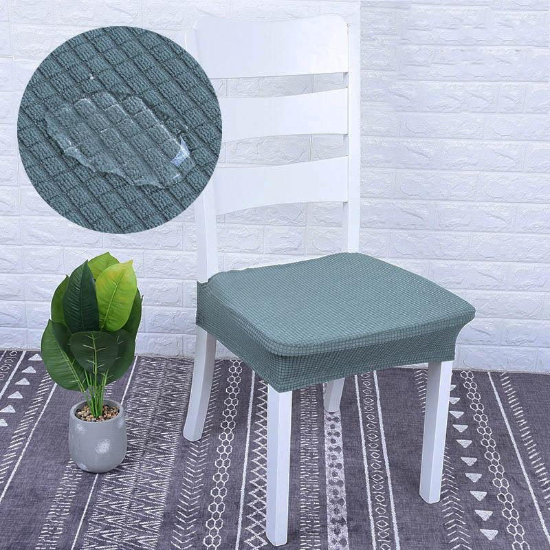 Round Stool Cover Slipcover Bar Office Seat Cloth Stretchy Protector Case Z