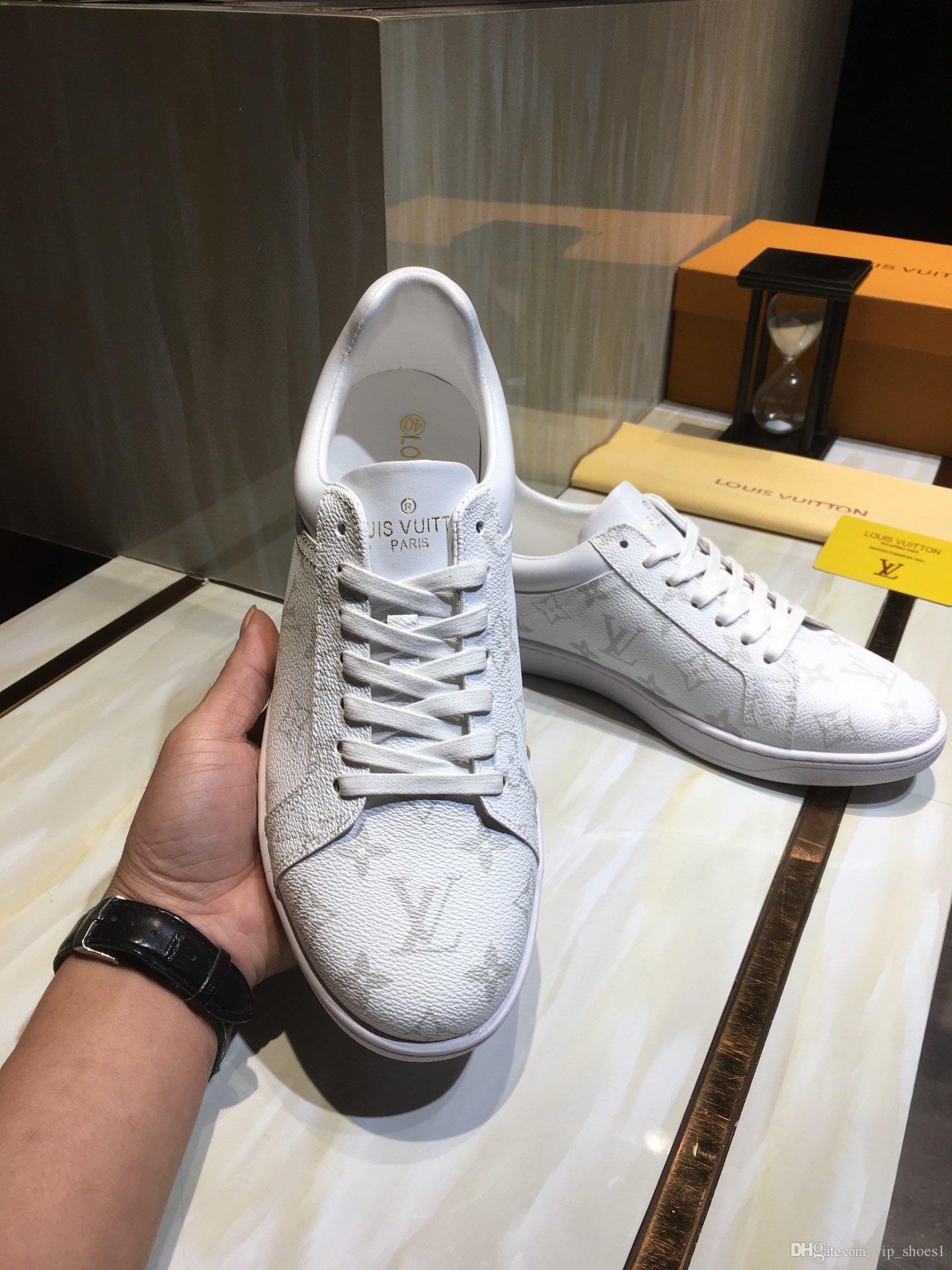 2020D neue Luxus-Design Herrenmode Sportschuhe, wilde atmungs Männer Casual Schuhe, Parteischuhe Größe der Männer: 38-45