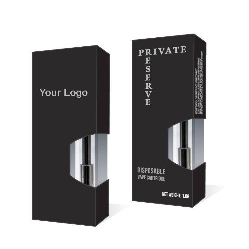 Индивидуальная упаковочная коробка для всех густых масляных картриджей Vape OEM Упаковка для картриджей испарителя Liberty V9 G2 A3
