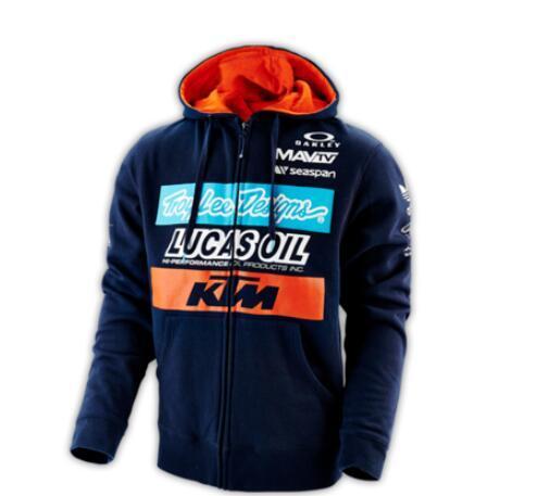 los conductores de motocicletas KTM suéter Knight anti-caída traje de caída de velocidad de lana suéter con capucha