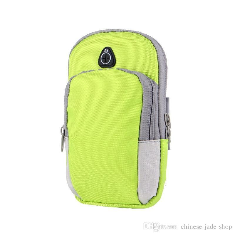 الرياضة شارة حالة تغطية تشغيل الركض الذراع الفرقة الحقيبة حامل حقيبة لمدة 4-6 بوصة العالمي ل فون x xs ماكس الهاتف الذكي 300 قطعة / الوحدة
