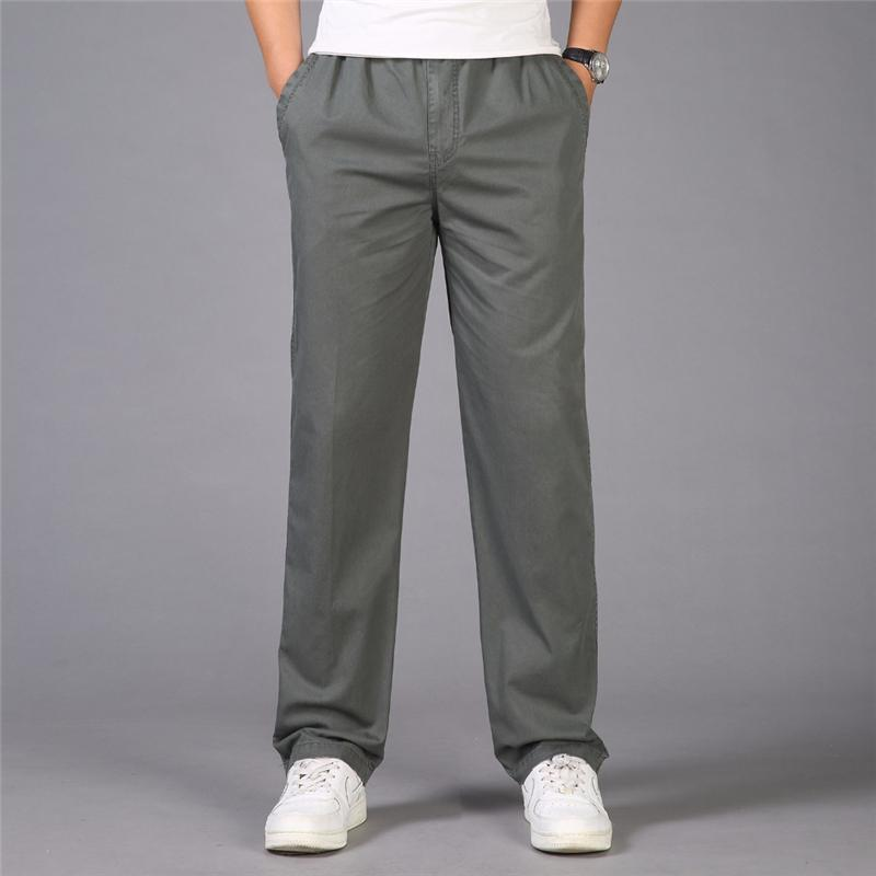 Men's Cargo Pants Army Tactical Overalls Cotton Trousers Multi-Pocket Loose Combat Baggy Pants Joggers Plus Size 6XL
