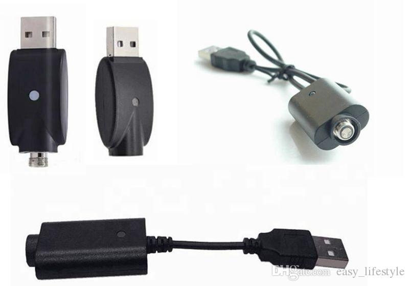Cargador USB para 510thread ego, ego-t, ego-w batería, cargador inalámbrico entrada de cigarrillo electrónico DC 5V USB 2.0 para todo ego Envío gratis