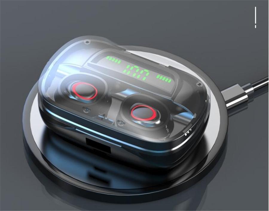 Caliente TWS18 Bluetooth 5.0 auriculares en la oreja los auriculares estéreo inalámbricos auriculares Deportes Auricular con el Mic para pisos o teléfonos móviles # OU150