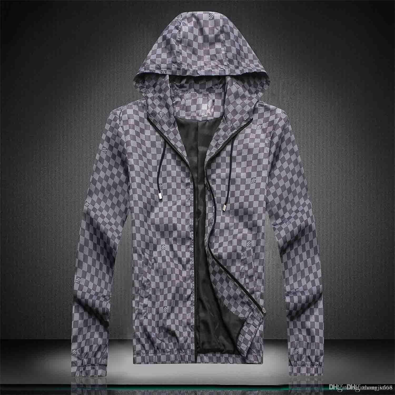 19 yeni bahar erkekler pra ceket marka erkek da ceket Kuzey erkekler lüks tasarımcı ceket açık rahat yumuşak Windproof Suya dayanıklı