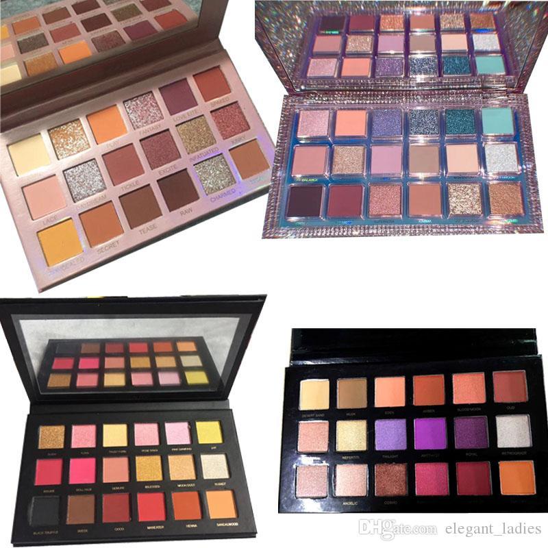 Nuovi Stili Eyeshadow 4 Stili I colori più alla moda e popolari Eyeshadow evidenzia la tavolozza Trasporto libero