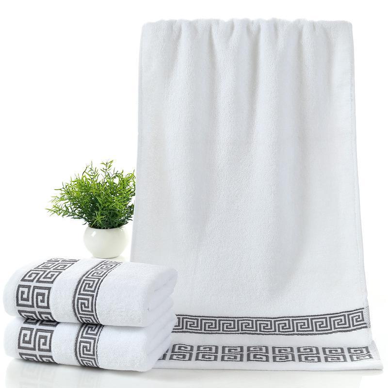Macio algodão Toalhas de banho Grande absorvente Bath Beach face toalha de algodão Início Casa de Banho Hotel para adultos dos miúdos 70x140cm frete grátis